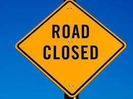Road Closures Wednesday and Thursday