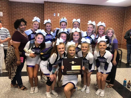 ECPHS Cheerleaders headed to State! #ECPPROUD