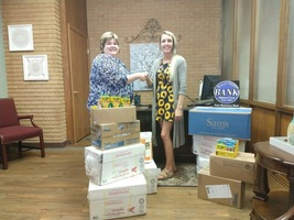 School Supplies from First State Bank of EC