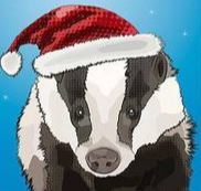 Christmas Badger